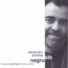 CD Folk: Alexandru Andries - Alb negru ( 1999 , original , stare foarte buna )