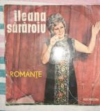 Disc vinil Ileana Sărăroiu LP,  romanțe