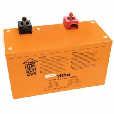 Acumulator pentru wohnwagen, boot, solar-anlage u.a. lifepo4, 12.8v, 120ah, , foto