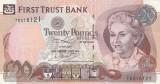 Irlanda de Nord - Northern Ireland  20 Pounds 2007 First Trust Bank  P.137b  XF+