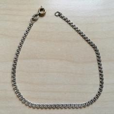 Bratara argint, 20.5 cm. Marcaj 925