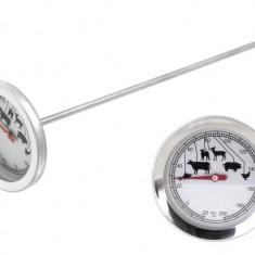 Termometru Alimentar pentru Carne tip Pin cu Afisaj, Temperaturi Masurare Intre -20 si 200 Grade