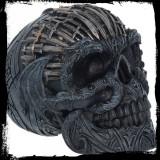 Statueta Craniu cu sabii