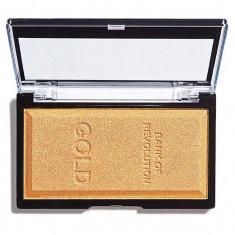 Iluminator compact Makeup Revolution Ingot Highlighter Gold 12g