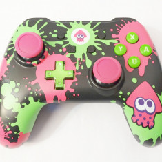 Controller gamepad cu fir Nintendo Switch PC PowerA Splatoon 2