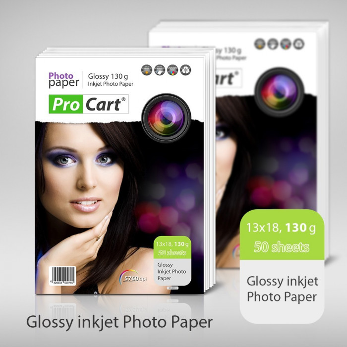 Hartie FOTO High Glossy 13x18 130g