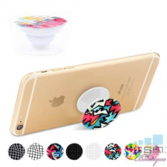 Suport Telefon iPhone Samsung Nokia HTC Stand Finger Grip Universal Multicolor, Apple