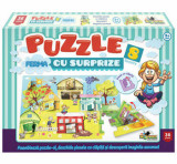 Cumpara ieftin Puzzle cu surprize Ferma, 36 piese