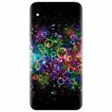 Husa silicon pentru Apple Iphone X, Rainbow Colored Soap Bubbles