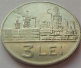 Moneda 3 LEI - RS ROMANIA, anul 1966 *cod 3947