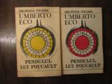 Pendulul lui Foucault -Umberto Eco , 2vol