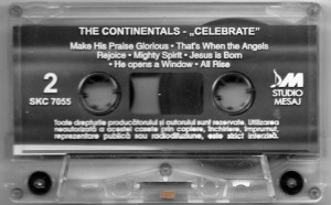 Caseta The Continentals ‎– Celebrate (The Best Of The Continentals Volume III)