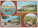 Bnk cp Mangalia - Vedere - circulata - marca fixa, Printata
