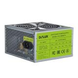 "SURSA DELUX 550 (350W for 550W Desktop PC) Fan 12cm Conector 20+4 pini 2xSATA 2xMolex 1xSmall 4 pini ""DLP-30D-550"""