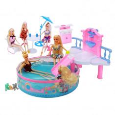 Papusa Betty, piscina si diverse accesorii