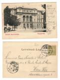 Timisoara 1903 - Teatrul, ilustrata circulata
