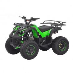 "ATV KXD 4T 125cc 006 Roti de 8"" Culoare verde Cod Produs: MX_NEW 1090G"