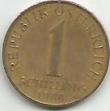 No(3) moneda-Austria 1 Schilling 1988