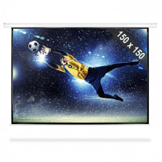 FrontStage Ecran de proiecție de tip Roll-ul HDTV 150x150cm foto
