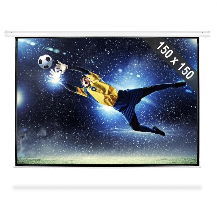 FrontStage Ecran de proiecție de tip Roll-ul HDTV 150x150cm