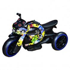 Motocicleta cu acumulator 12V Grafitti