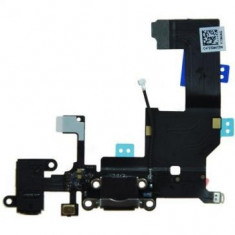 Banda cu conector alimentare Apple iPhone 5 Original Negru