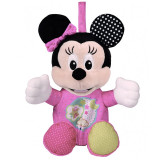 Lampa de veghe muzicala cu proiector Minnie Mouse Disney 17207, Roz