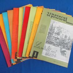 REVISTA VANATORUL SI PESCARUL SPORTIV  , 11 NUMERE  / 1964