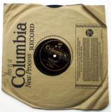 O.503 DISC PATEFON GRAMOFON COLUMBIA ISRAEL JOSEPH ROSENBLATT, VINIL