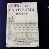 ISTORIA UNIVERSITATII DIN IASI