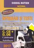 Intrebari si teste pentru obtinerea permisului de conducere auto