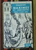Maximes et anecdotes / Chamfort ; Preface d'Albert Camus
