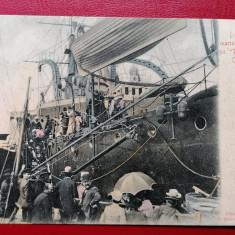Constanta debarcarea marinarilor rusi de pe Potemkim / colt rupt dreapta jos