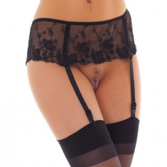 Dresuri cu port-jartiere si  rochita Rimba – Suspenderbelt with Stockings