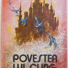 POVESTEA LUI CLING de NELSON DIMITRIU , volum ilustrat de IULIA DINESCU si PANAITE IANCU , 1989