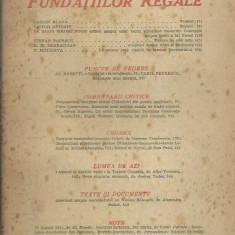 AS - REVISTA FUNDATIILOR REGALE, ANUL XIV, NR. 8-9, AUG.-SEPT. 1947