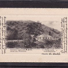 BANAT BANATUL DE SUD  VARSET   SALUTARI   DIN  VARSET  CIRCULATA 1903, Printata