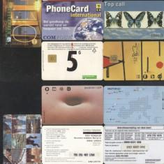 Netherlands - 7 Telephone cards Magnetic cards Motives CT.006
