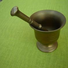 Mic mojar din bronz