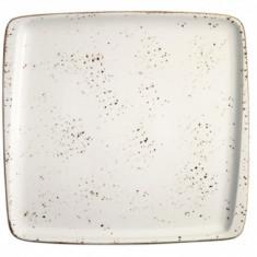 Farfurie patrata din portelan, 15x14cm, 0101137, Bonna-Grain