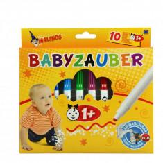 Carioci pentru bebelusi Malinos, 10 bucati, non-toxice