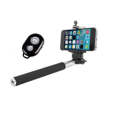 Bat Suport pentru Telefon Selfie Stick Extensibil cu Telecomanda foto