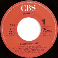 "Bangles - Eternal Flame (1990, CBS) Disc vinil single 7"""