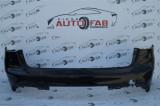 Bară spate Merdeces-Benz C-Class W205 AMG Combi an 2014-2019 cu găuri pentru Parktronic (6 senzori)