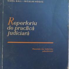 REPERTORIU DE PRACTICA JUDICIARA - CAMIL GALL (REZUMATE ALE HOTARARILOR JUDECATORESTI)