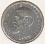 * Moneda 1 leu 1900, Argint