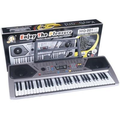 Orga electronica MQ-001UF cu 61 clape ,USB, MP3, Radio Fm si Microfon inclus foto