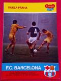 Program meci fotbal DUKLA PRAGA-FC BARCELONA (21.10.1981)