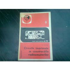 CIRCUITE IMPRIMATE IN CONSTRUCTIILE RADIOAMATORILOR - G.A. BORINOVSKI
