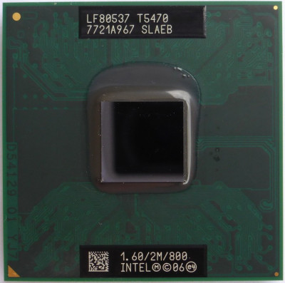 Procesor  Intel Core 2 Duo T5470 1.6 Ghz 2 M 800 mhz socket p PPGA478 foto